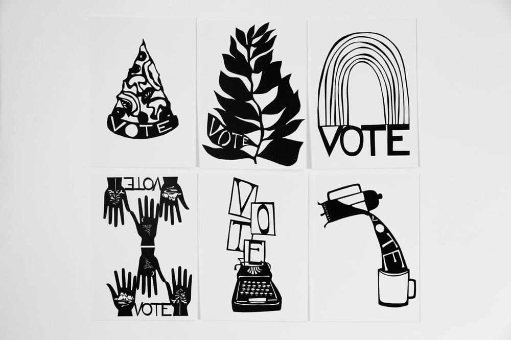Image of Vote Postcard 10-Pack