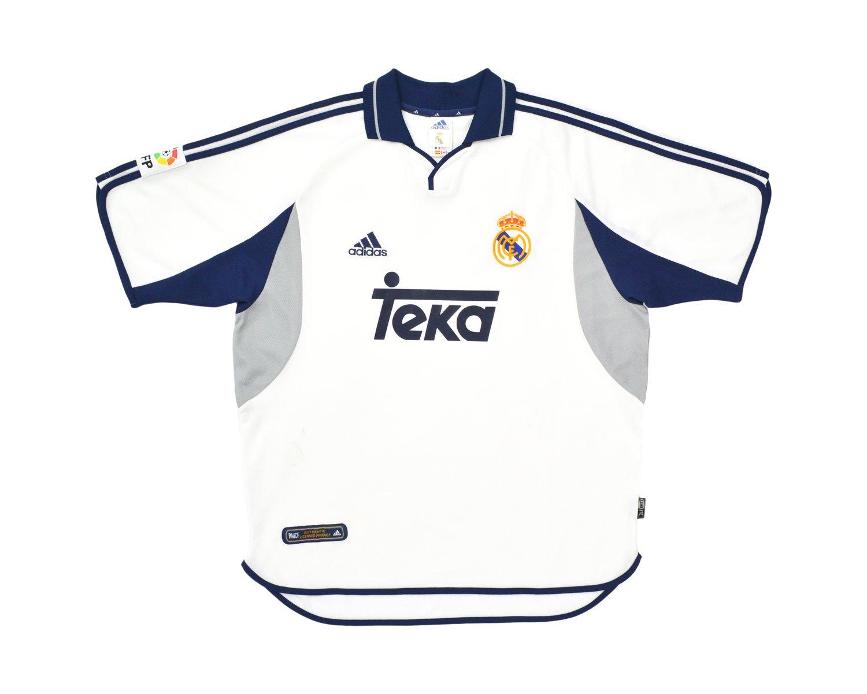 Image of 2000-01 Adidas Real Madrid Home Shirt L