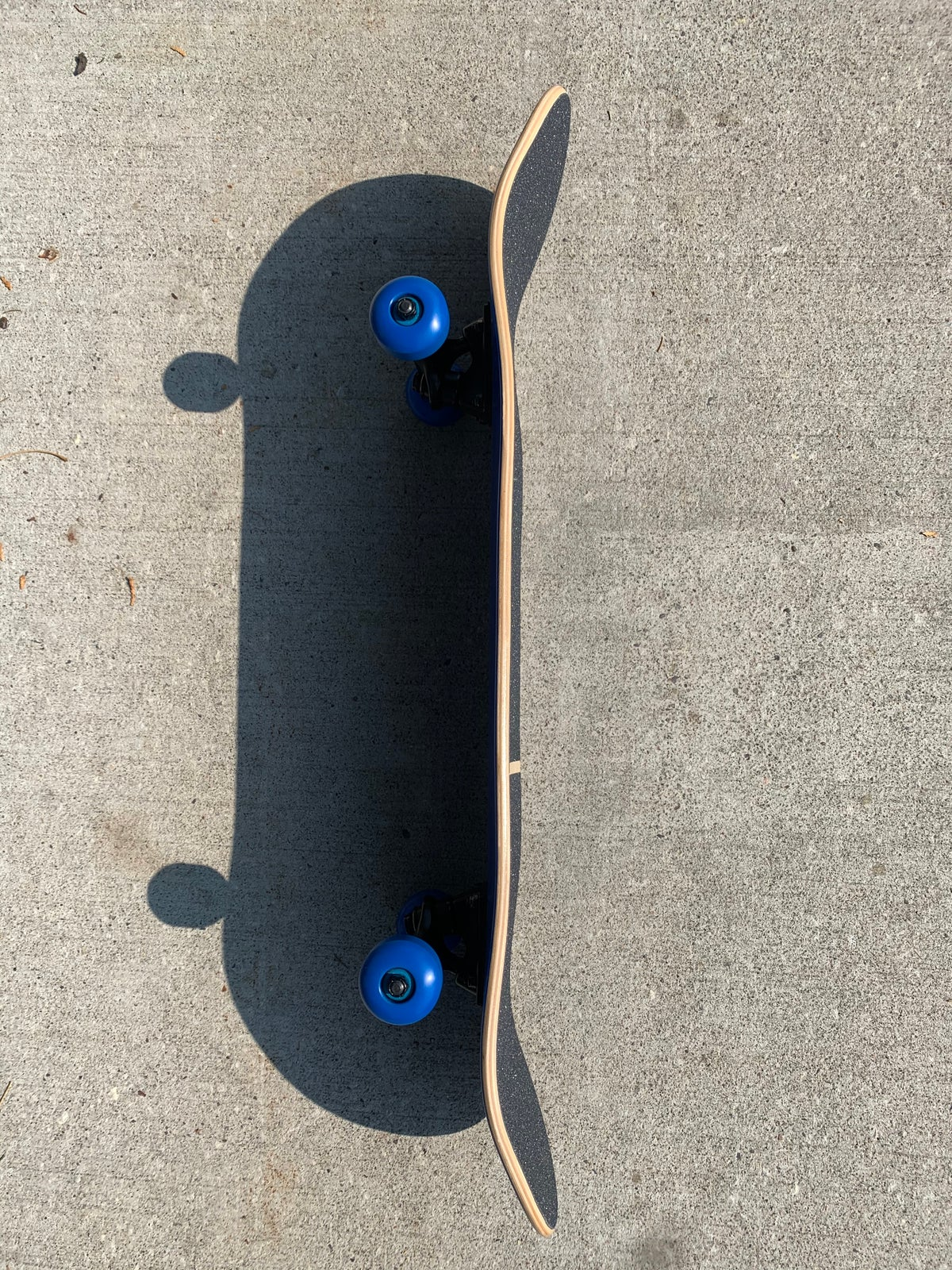 Image of Blue Stained Complete Skateboard