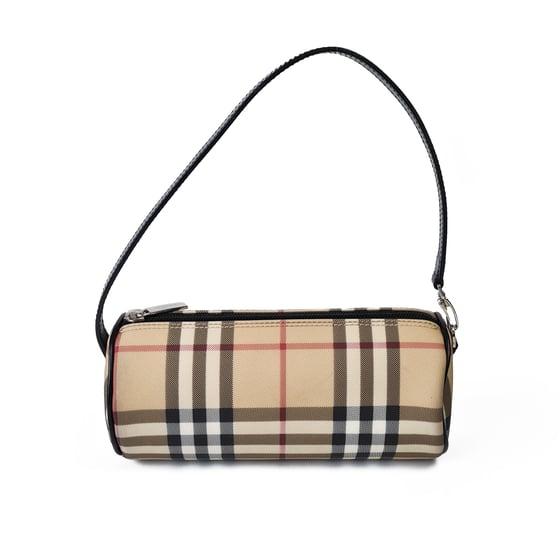 Image of Burberry Mini Barrel Bag