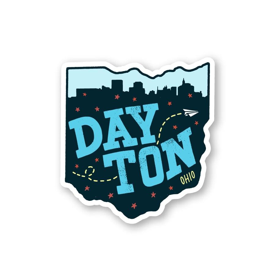 Image of Dayton OH State Magnet