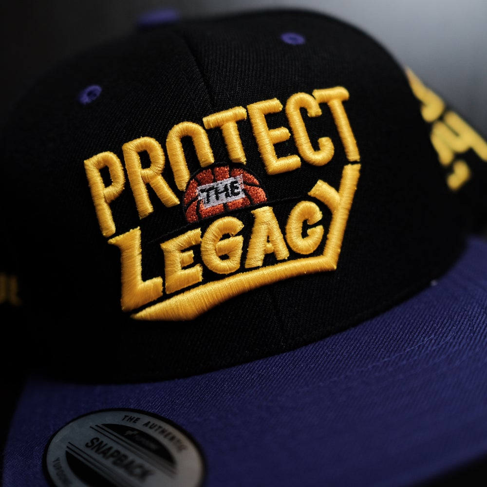 1 OF 1. Protect the Legacy in Gold on Black