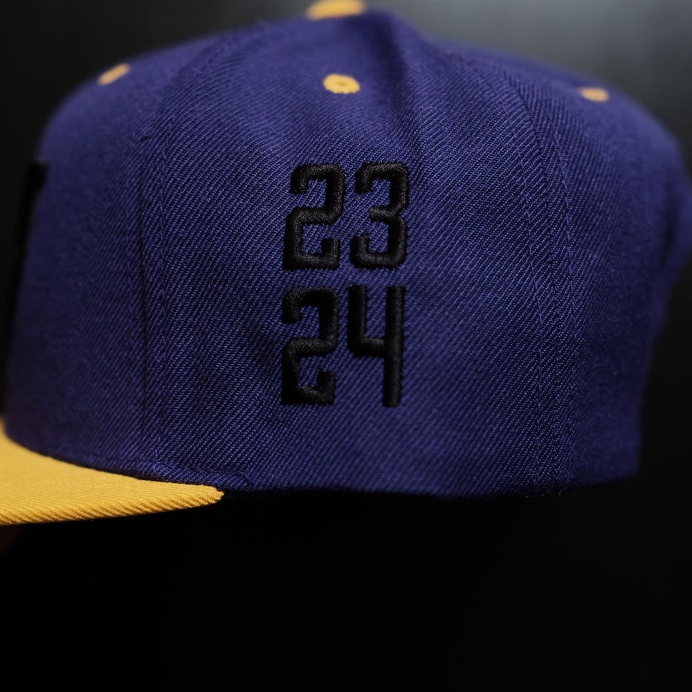 1 OF 1. Protect the Legacy in Black on Purple