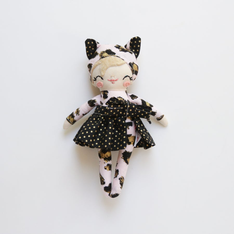 Image of Mini Posie - Pink Leopard Costume #2