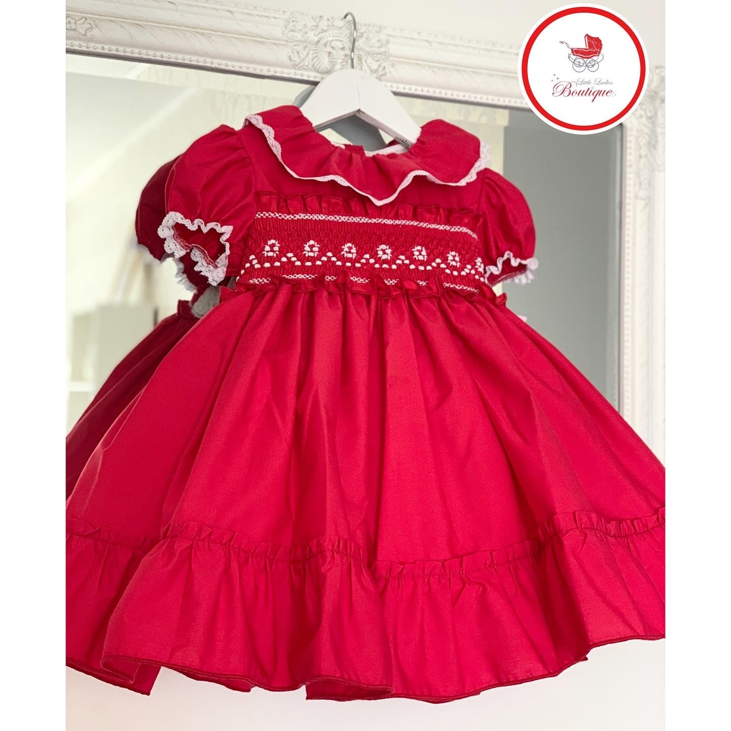 Image of Sonata Red Smock