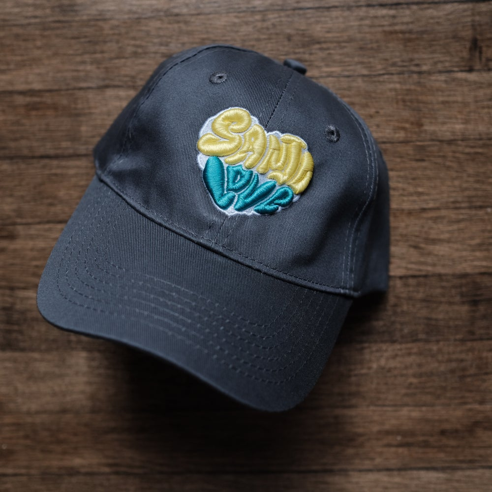 Kid's SanJo Love in Yellow and Teal on Grey