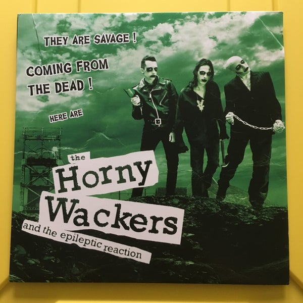 Image of The Horny Wackers and the Epileptic Reaction LP