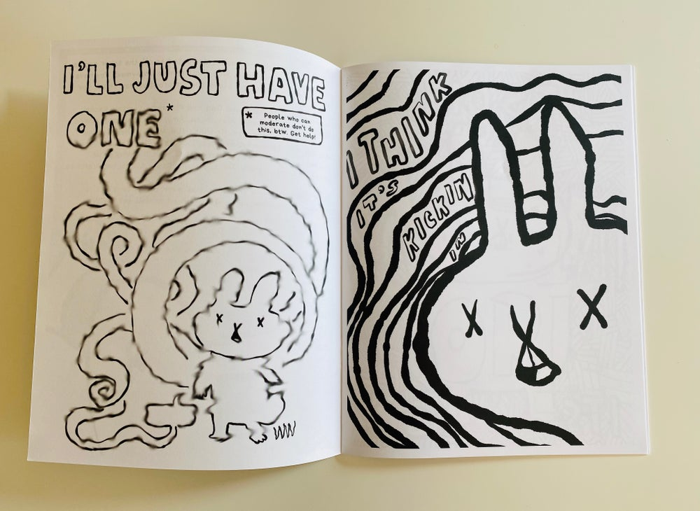 Sober Rabbit Coloring Book (Limited Edition)