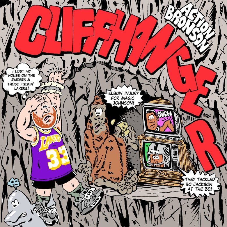 Image of ACTION BRONSON CLIFFHANGER PRINT
