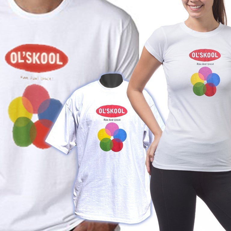 Image of OL'SKOOL_Short Sleeve Tshirts_AVAILABLE in Men, Women, and Youth Sizes--DTG printed