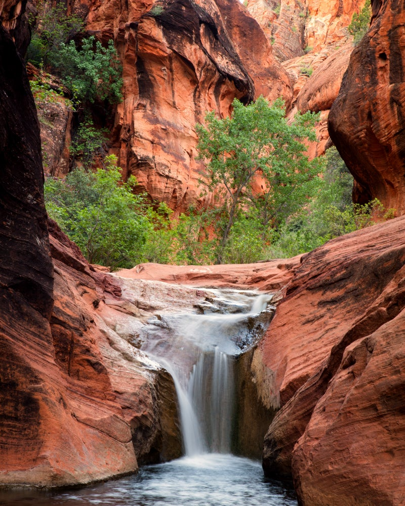 Image of Red Cliffs Waterfall