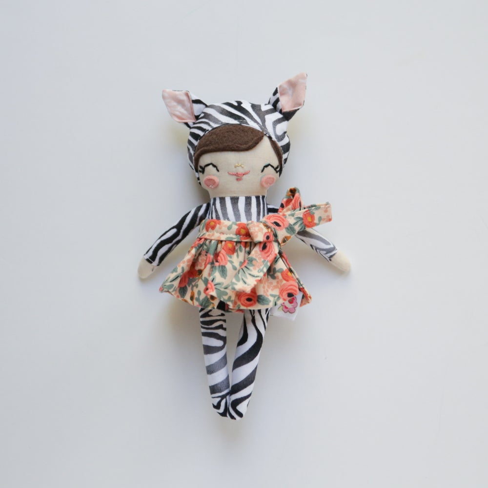 Image of Mini Posie - Zebra Costume