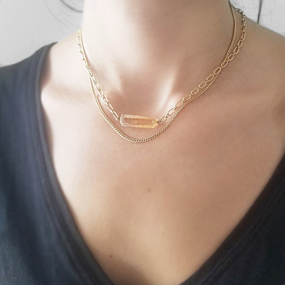 Image of Inspire Light Necklace (Long & Short Chain)