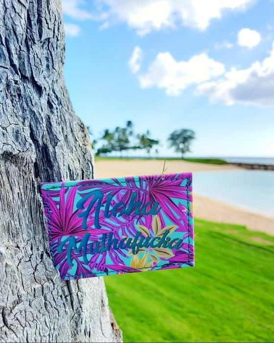 Image of New! Aloha Muthafucka laser cut