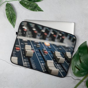 Image of Faders Laptop Sleeve