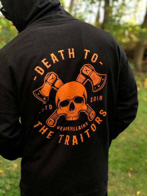 Image of DEATH TO THE TRAITORS HALLOWEEN EDITION