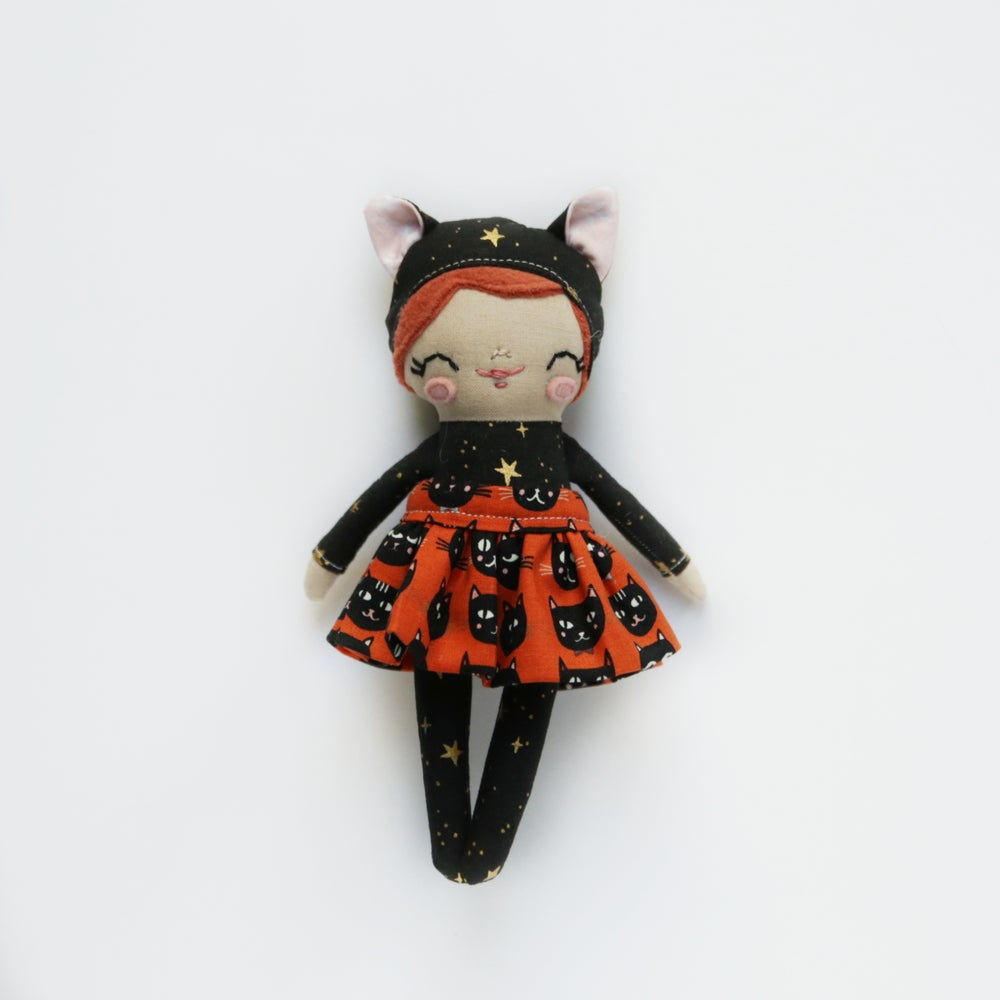 Image of Mini Posie - Black Kitty Costume #2