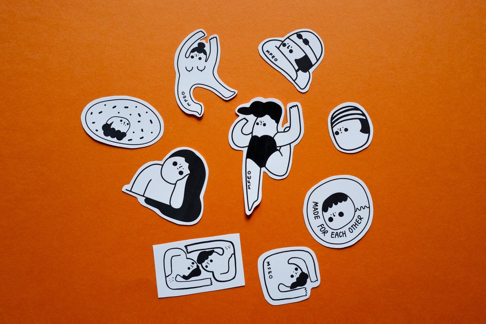 Image of MFEO Stickers