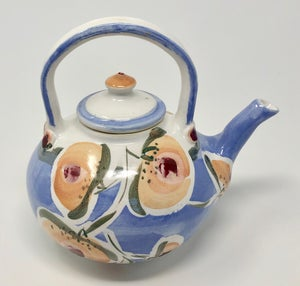 Image of Blue Teapot