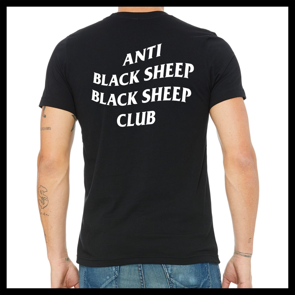 Anti Black Sheep Black Sheep Club T-Shirt