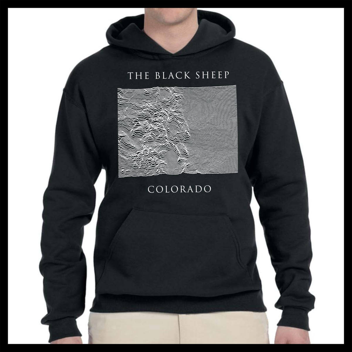 Black Sheep Colorado Pocket Hoodie