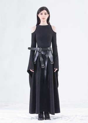Image of Multistrap Leather  Belt