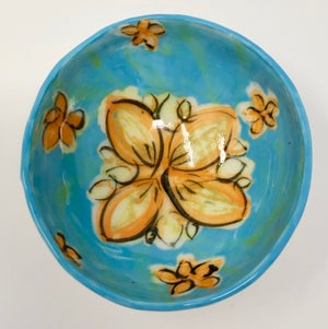 Image of Very Small Bowl - Turquoise
