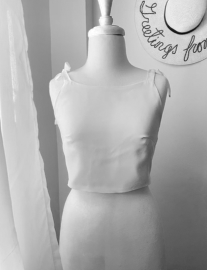 Image of Pixie Crop Top PDF Sewing Pattern