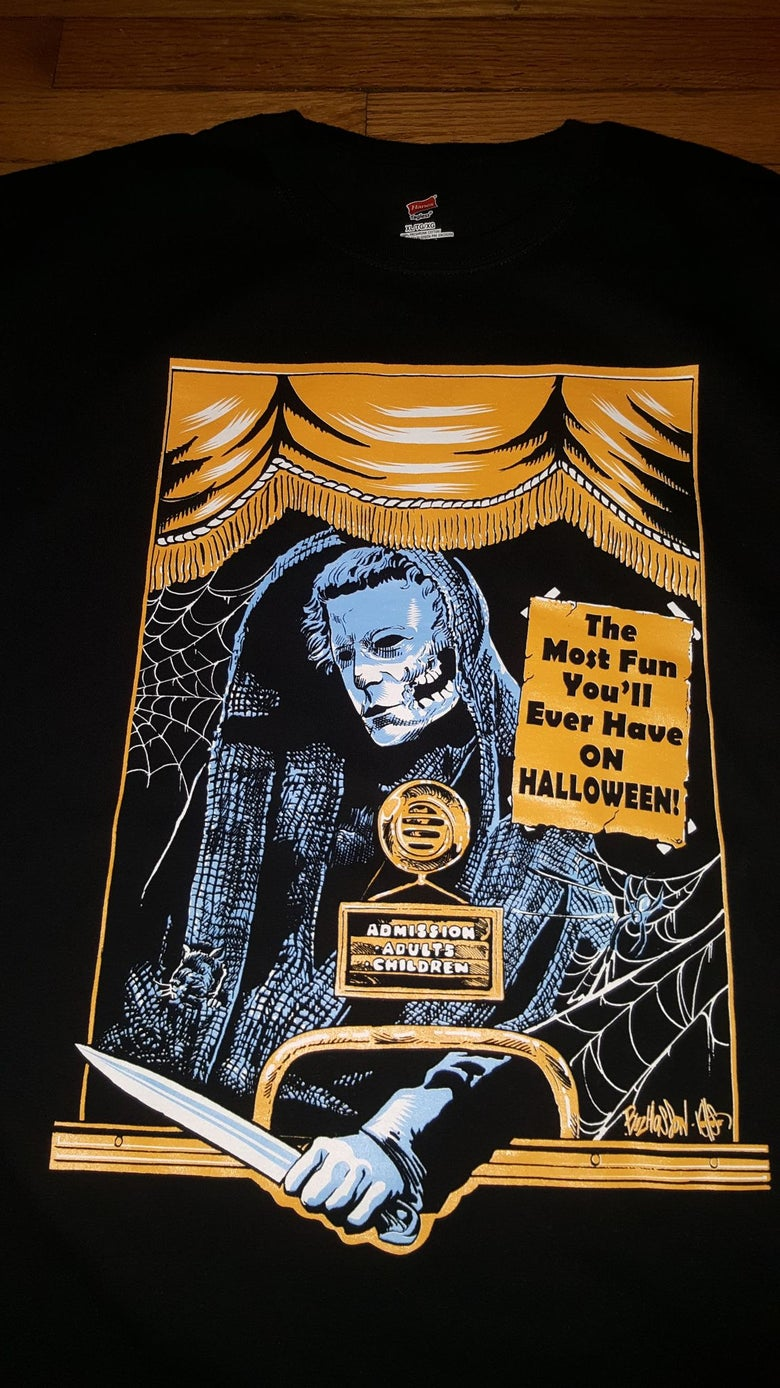 Image of CREEPSHOW/HALLOWEEN MASH UP T SHIRT (IN STOCK)