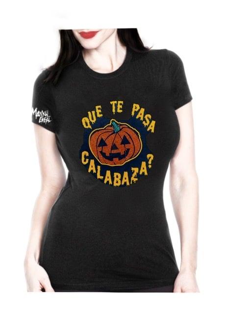 Image of Que Te Pasa Calabaza Women's Tee