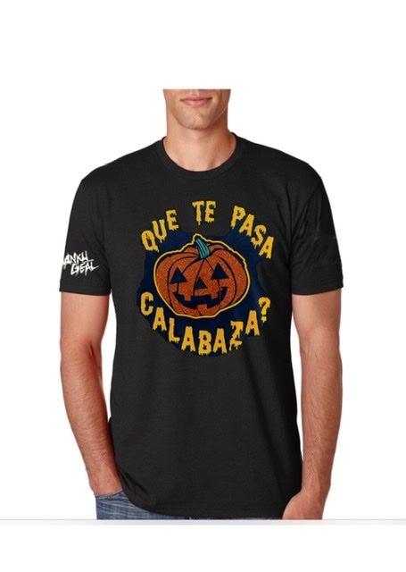 Image of Que Te Pasa Calabaza Mens Tee