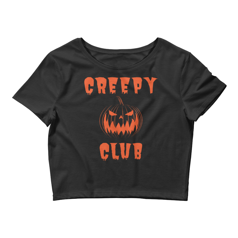 Image of CREEPY CLUB - CROP TOP