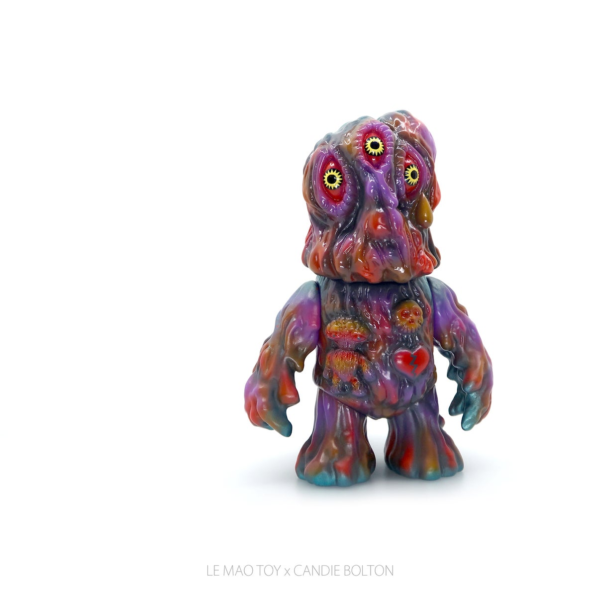 Image of Heartache Black Hole Kaiju - Purple