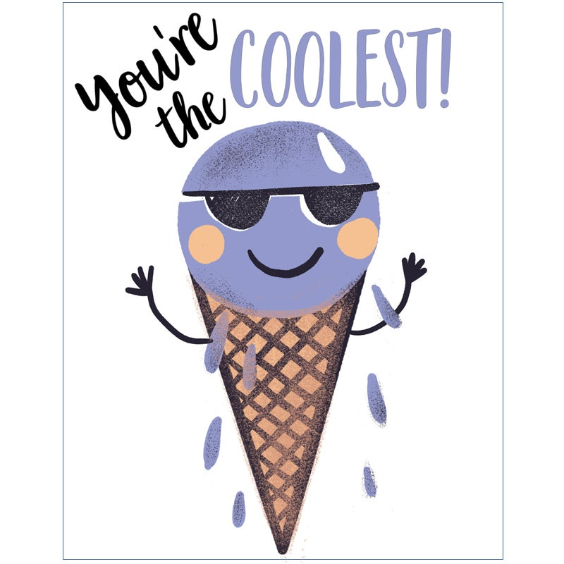 Image of You're the coolest! card