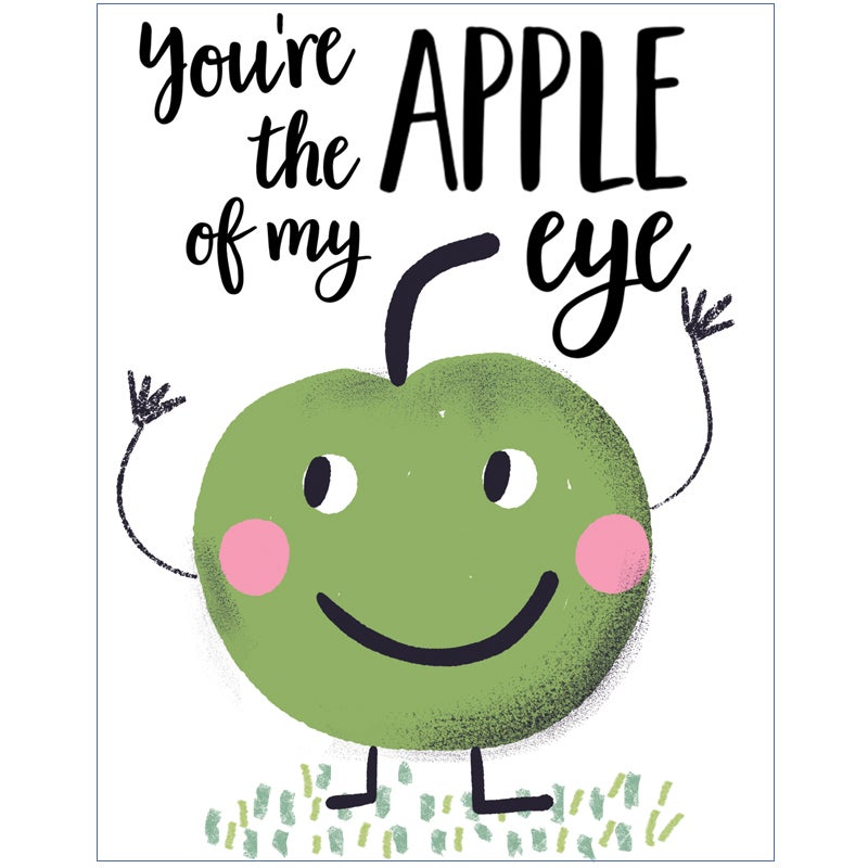 Image of You're the Apple of my eye! Card