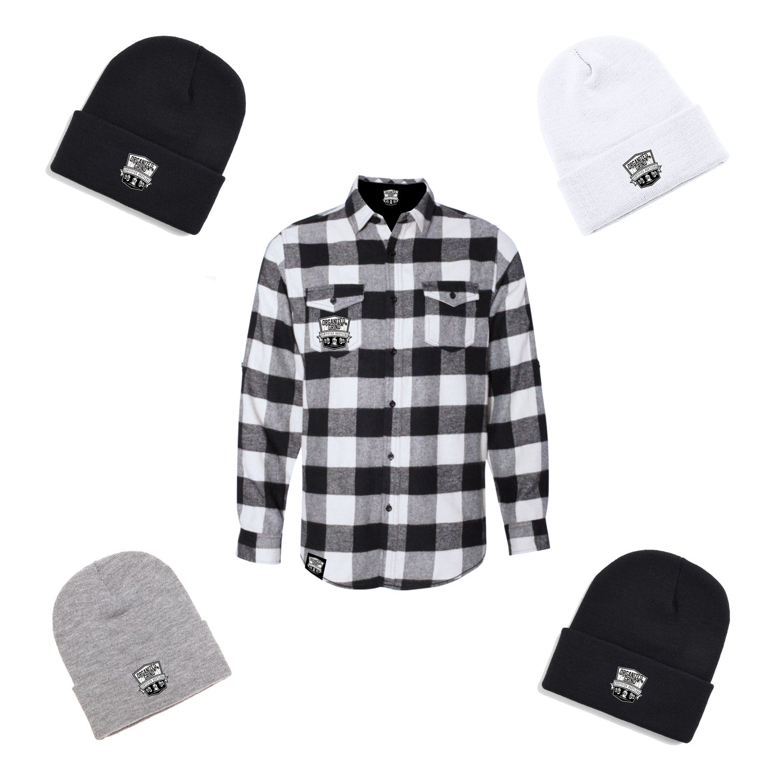 Image of New OG Flannel & Beanies