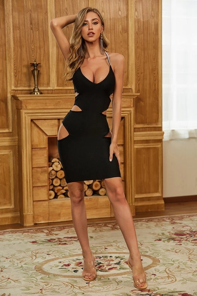 Image of Aria Bandage Dress-Use Coupon Code: STIM25