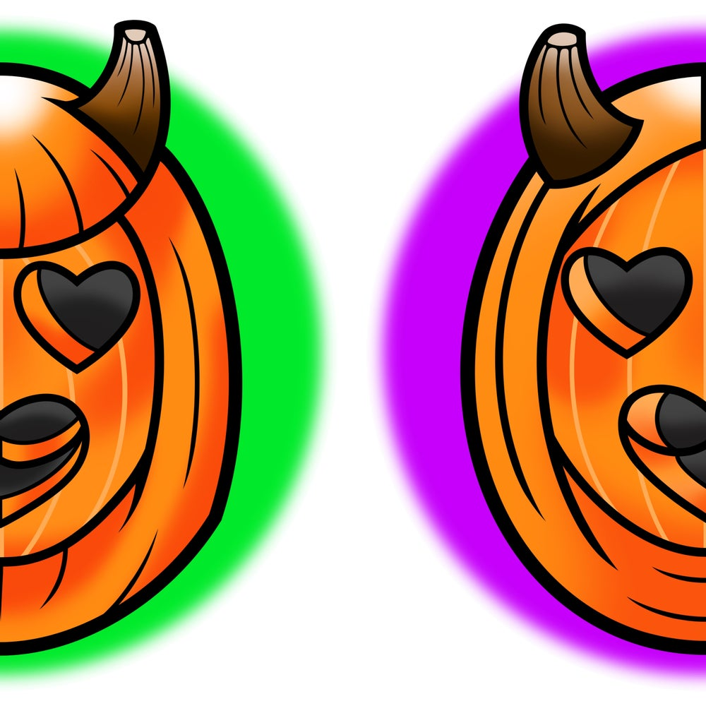 Image of PUMPKIN HEADS SET