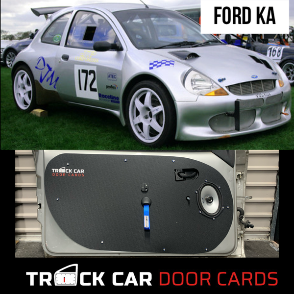 Image of Ford KA - Track Car Door Cards