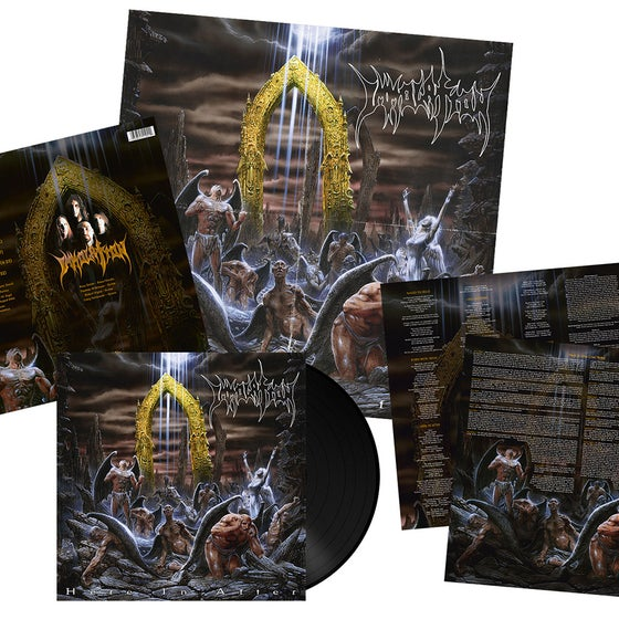 Image of Immolation • Here in After (Black Vinyl)
