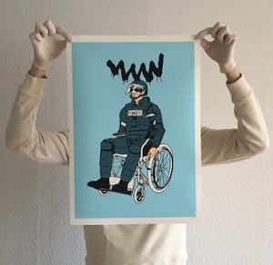Image of Disabled To Solve The Real Crime (Edition of 30)