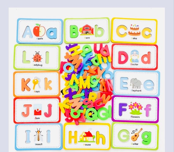 Image of Flashcards/Tracing & ABC Magnetic Letters