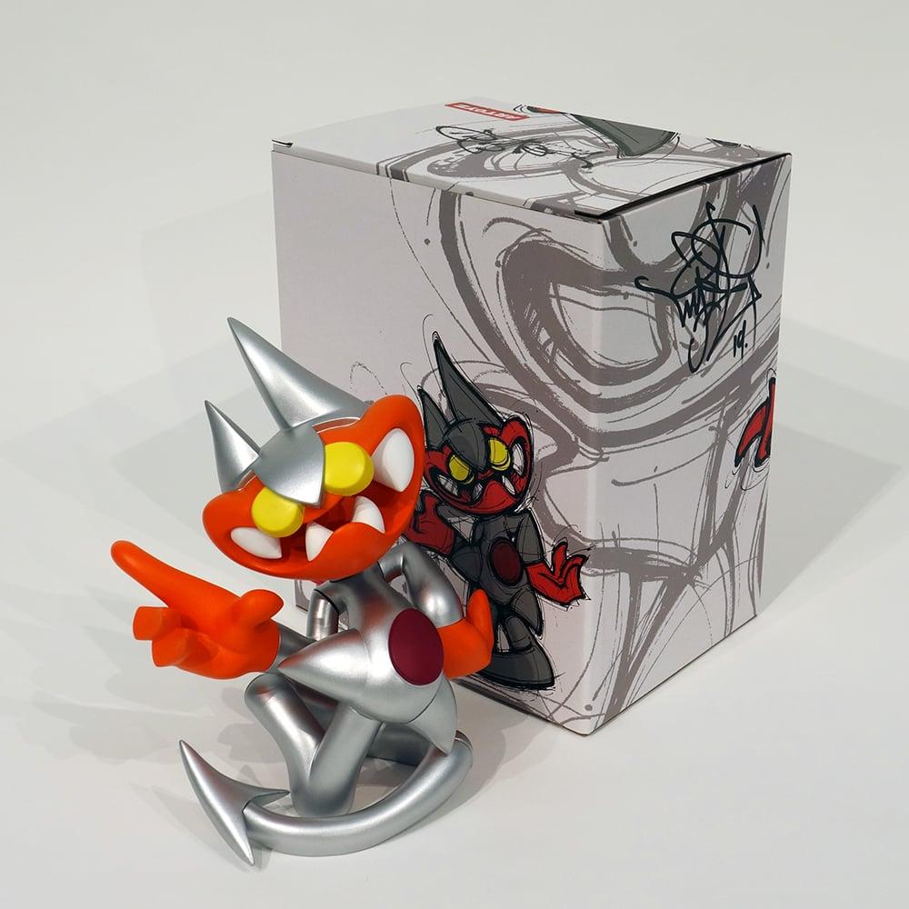 Image of MIST - Devilo Erectus (Silver) signé