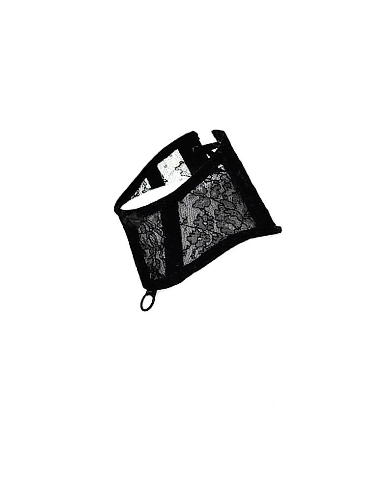 Image of CELINE LACE POSTURE COLLAR