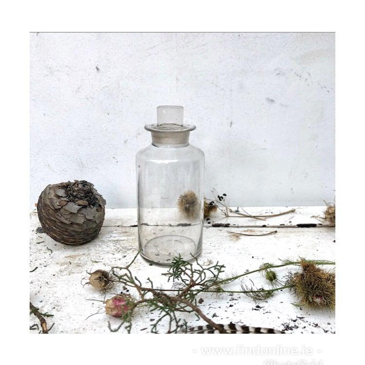 Victorian pharmacy bottle