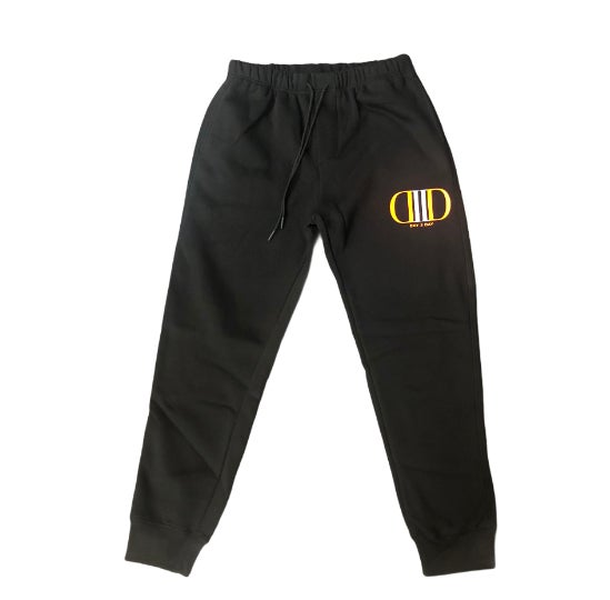 Black/Orange Sweatsuit