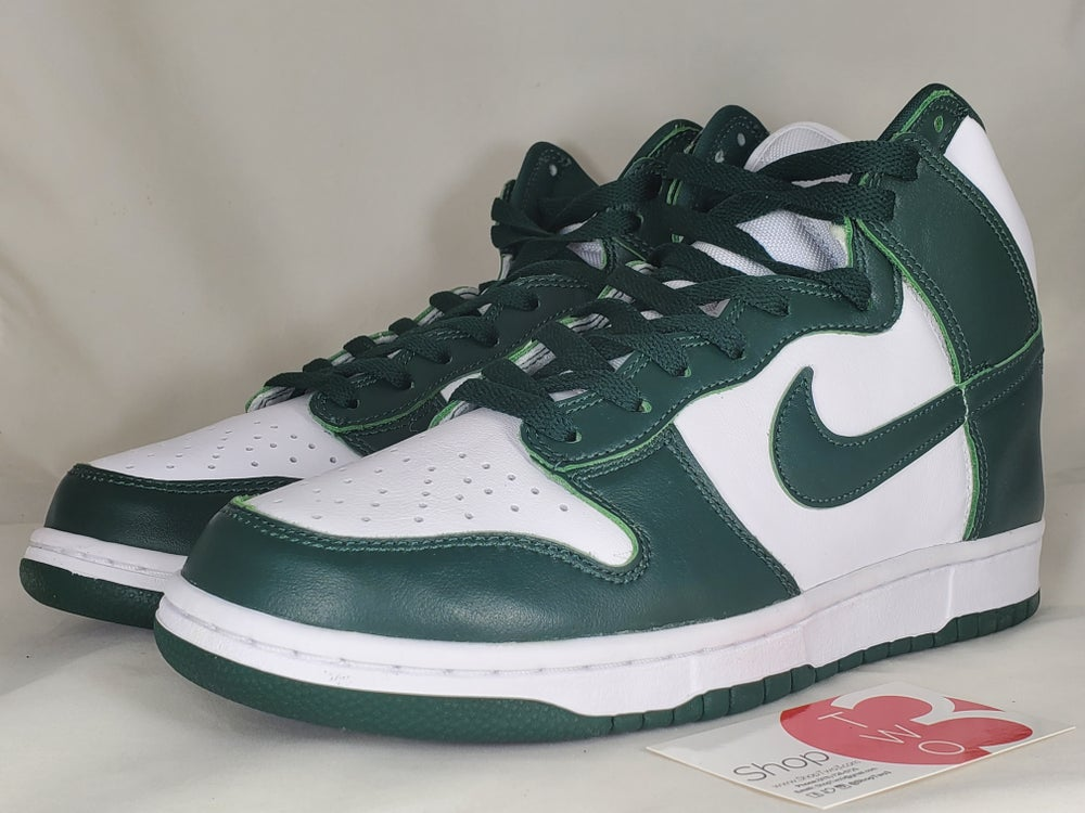 Image of Nike Dunk HI Spartan Green