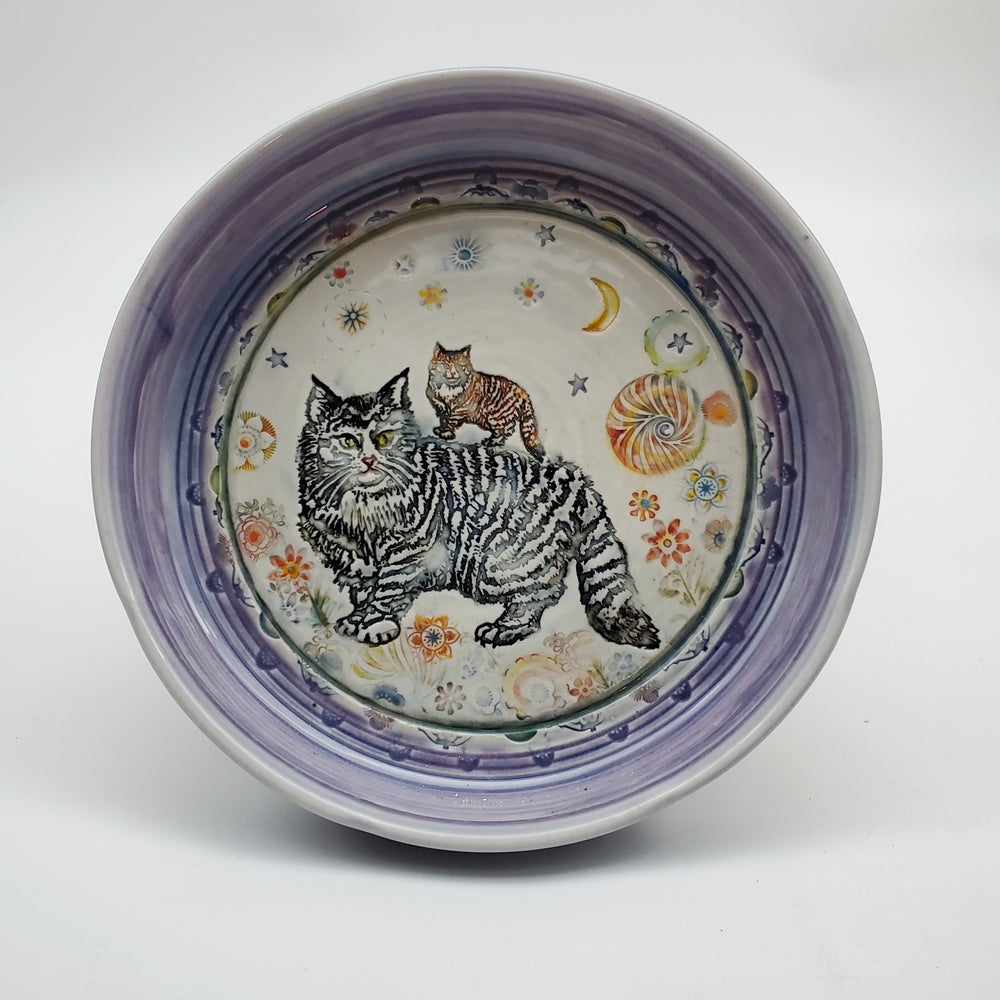 Image of Kitty Cats Porcelain Dish