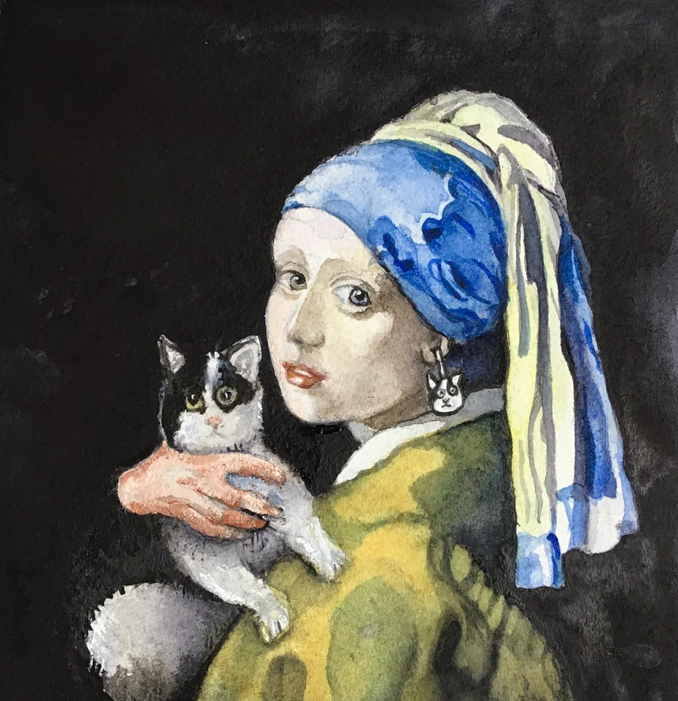 Image of 'The Girl with the Purr'l Earring'