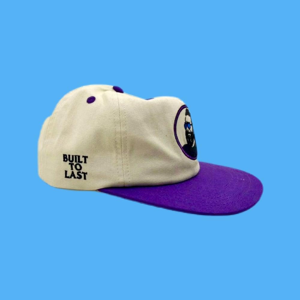 Image of NEW Built to Last 100% Natural Hemp Snapback Hat! - Purple